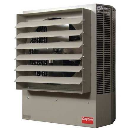 Dayton 60kW Electric Unit Heater, 3-Phase, 480V 4TDH7 Zoro