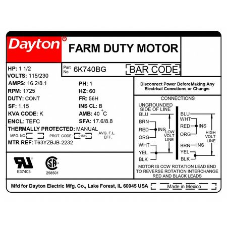 Dayton Electric Motor Capacitor Wiring Diagram Free Picture Wiring