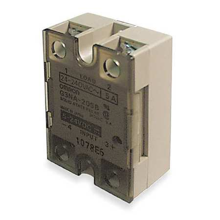 Omron Solid State Relay, 5 to 24VDC, 20A G3NA-220B-DC5-24 Zoro