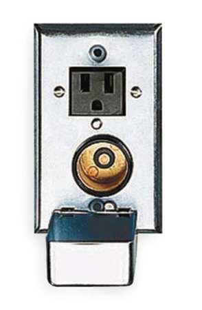 Eaton Bussmann Plug Fuse Box, Receptacle, 2-3/4 in Swtch SRW Zoro