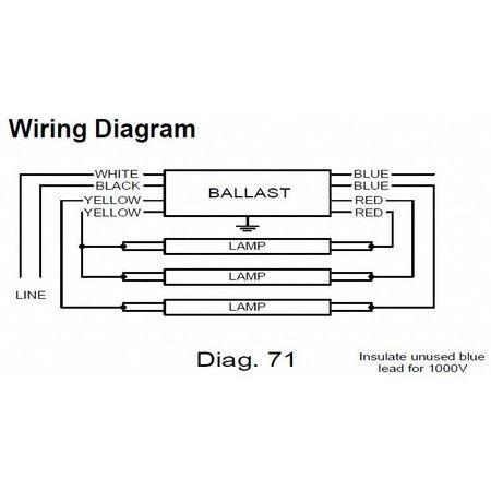T8 Ballast Wiring Diagram Icn 4p32 N technical wiring diagram