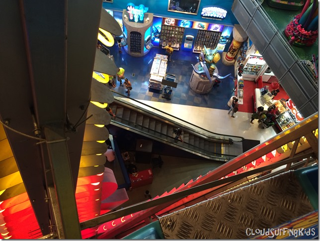 View from Toys R Us Ferris Wheel