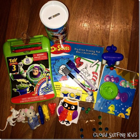 Busy bag for a Toddler