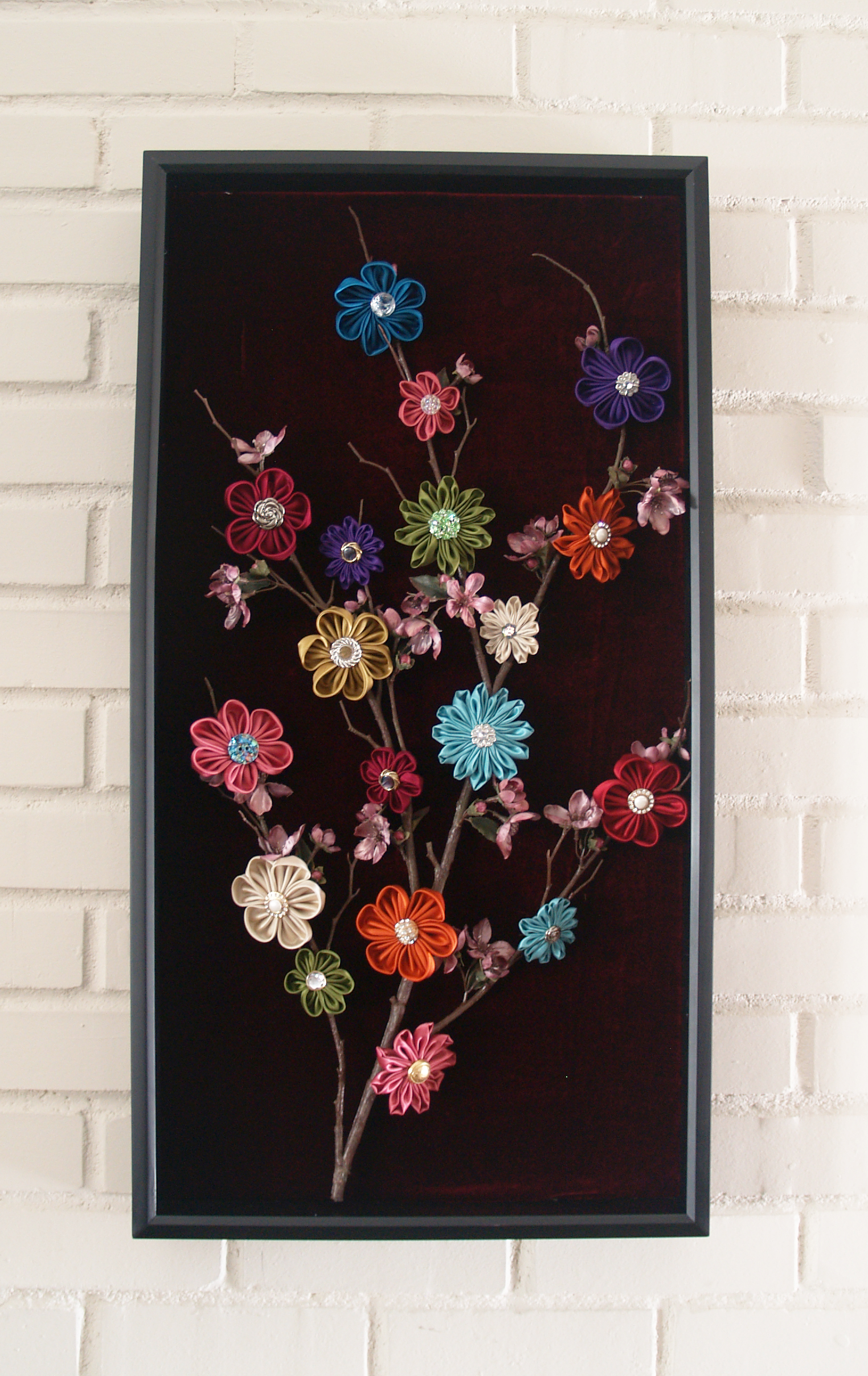 Pictures Wall Decor Ideas Kanzashi Tree Of Life Wall Decor Clover Needlecraft