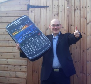 BlackBerry Bold 9700 winner James Howell