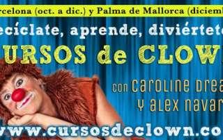 Curso de clown en Barcelona y Palma de Mallorca 2016
