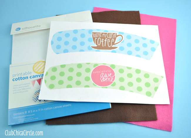 Make your own easy Coffee Cozy Sleeve Gift Idea
