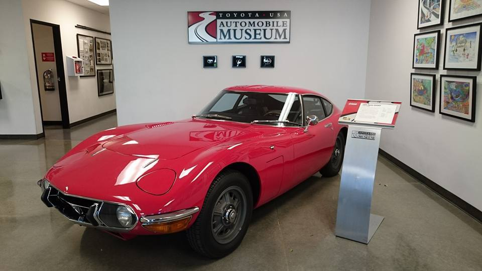 Toyota 2000GT at the Toyota USA Museum