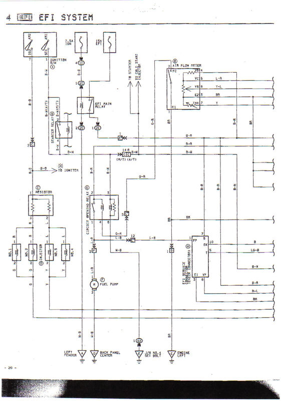 Toyota Ecu Wiring Diagrams Wiring Schematic Diagram