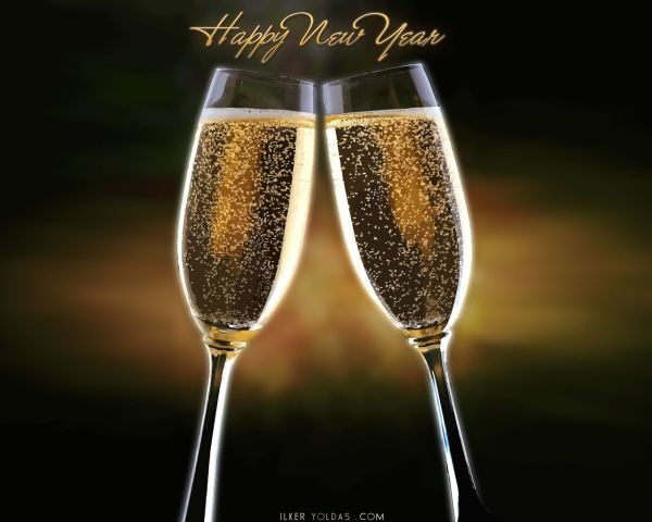 Happy New Year. 1280 x 1024.Happy New Year Letterhead Free 2010