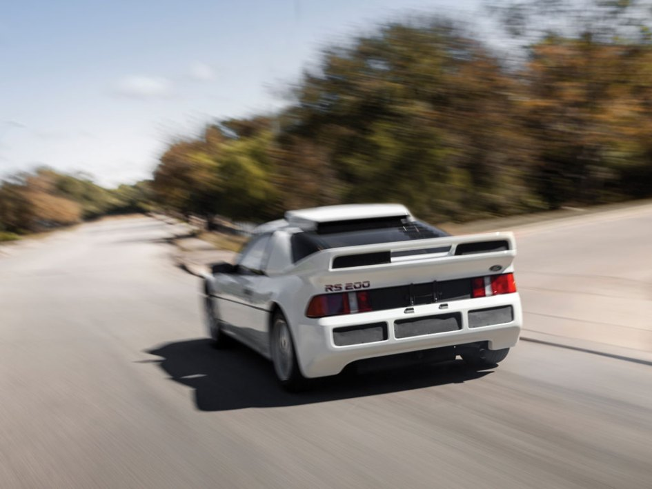 El último ford RS200