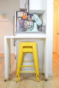 DIY Rolling Kitchen Island or Bar (IKEA Hack!)