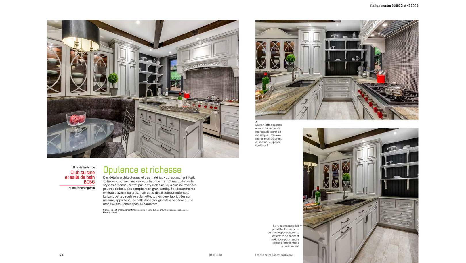Les Plus Belle Cuisine Kitchen Designer Custom Kitchen Cabinets In Laval Near Montreal