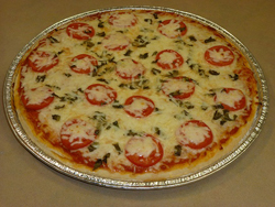 Foto pizza margarita curso pan Club de Reposteria