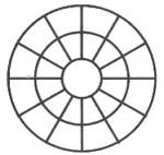 Torta Redonda - Grafica Corte Porciones