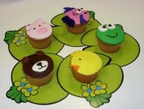 Cupcakes de Animalitos - Club de Reposteria