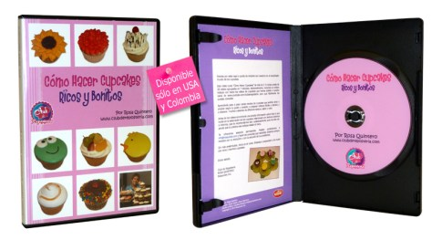 Como Hacer Cupcakes - Video Curso en DVD por el Club de Reposteria