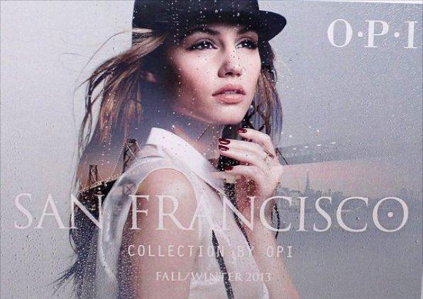 Nova coleção OPI4 Nova colecção da OPI   San Francisco