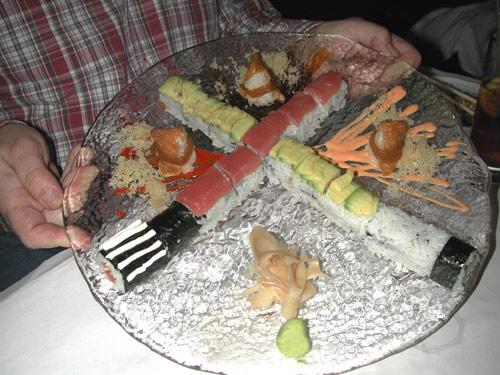 IMAGE: SW sushi