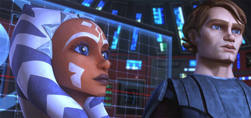 IMAGE: Ahsoka and Anakin