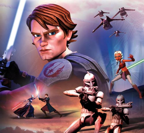 COVER ART: The Clone Wars junior novelization