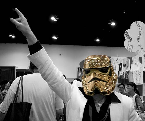 Disco Stormtrooper by nathaninsandiego @ Flickr
