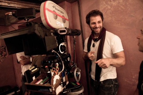 Zack Snyder filming Sucker Punch