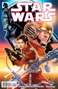 Hastings exclusive edition of Star Wars #1