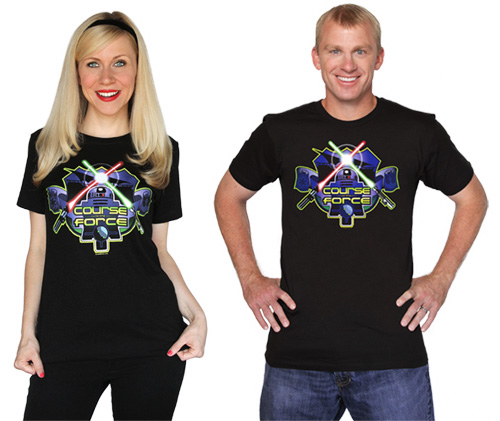 Her Universe's Course of the Force tees (Yes, for men as well!)