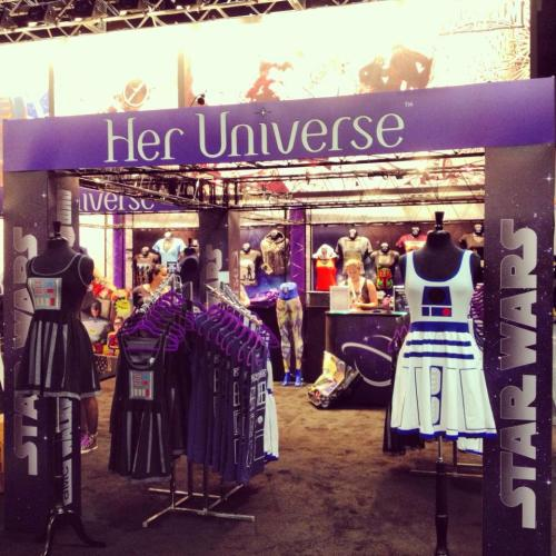 Her Universe's new MEGA BOOTH