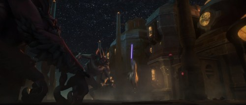 TCW: Lost Missions Trailer #1 (Windu and the bat)