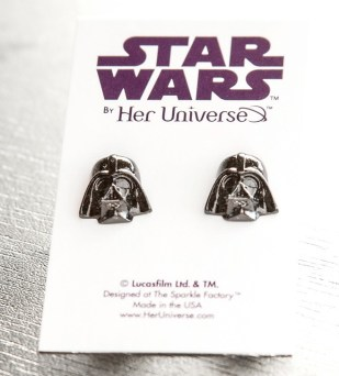 Her Universe Vader earrings