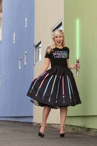 Lightsaber skirt (Her Universe Celebration Anaheim)