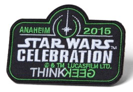 Thinkgeek Celebration patch (w/ purchase of Con Bag of Holding)