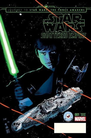 Journey to the Force Awakens: Shattered Empire #1 (Third Eye variant)