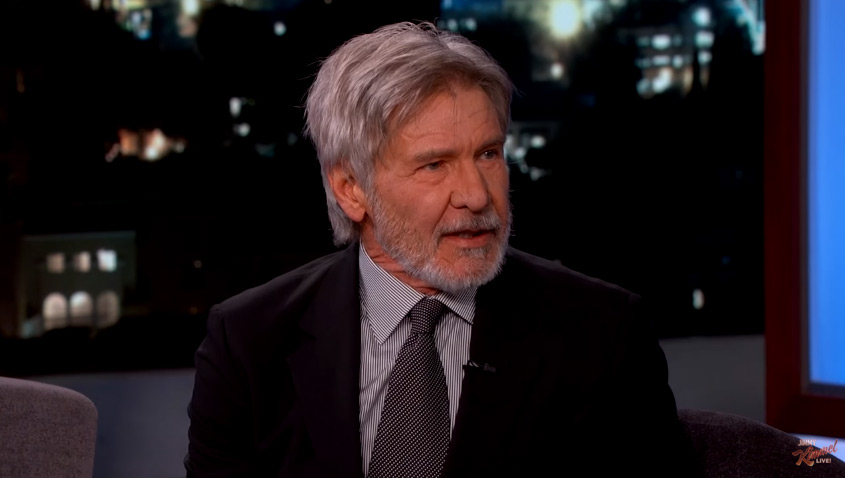 harrison ford continues his rounds promoting the force awakens blu ray. Cars Review. Best American Auto & Cars Review