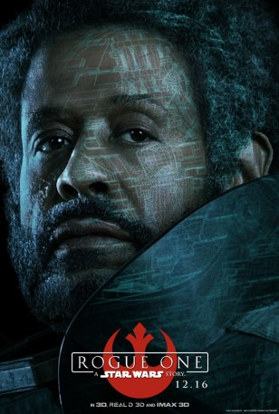 Rogue One poster (Saw Gerrera)