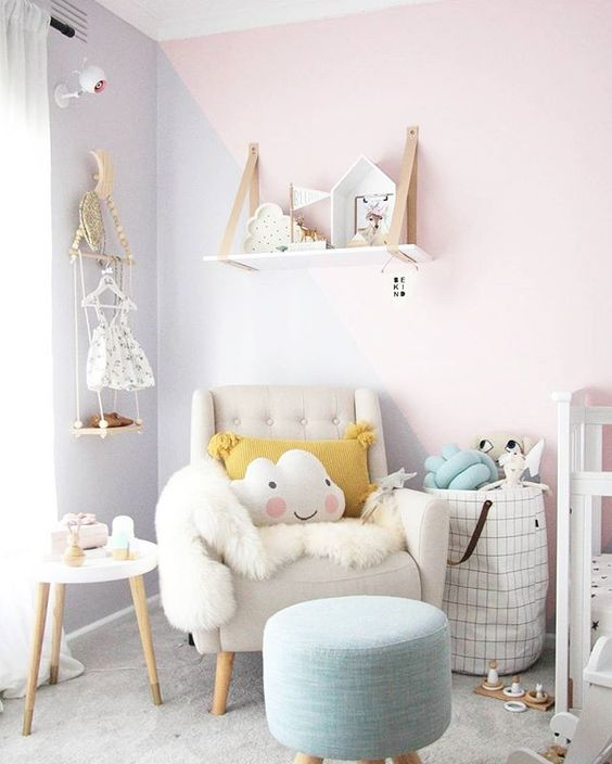 Fauteuil Rose Moore Shop The Room | Chambre Fille Cozy - Club Mamans
