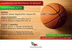 U13-2016 - Semifinales