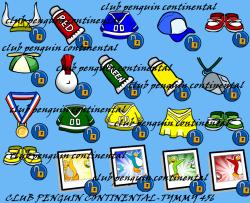 Dia del juego articulos para desbloquear!! | Club Penguin Continental
