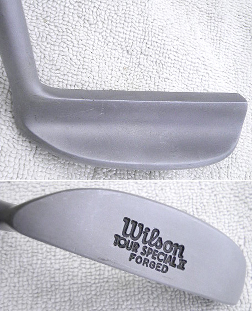 Leather White Wilson Tour Special Ii Forged Putter, (8802)