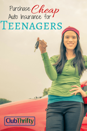 If you are going to let your teenager drive their own car, look around to find them the best rates on auto insurance. Doing so can help you save money.