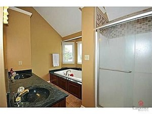 My dream house had crazy green countertops!  (I would have replaced them!)