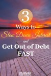 When interest builds up, it's hard to get ahead. Here are 3 types of loans you can use to hit the pause button on your interest and destroy your debt fast!