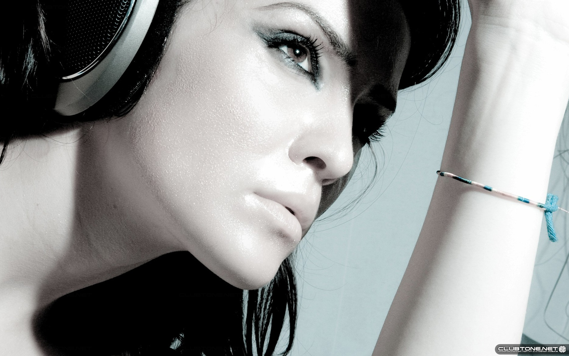Beautiful Headphones Beautiful Girl In Headphones