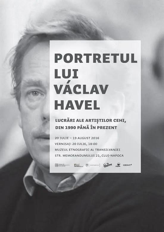 """""""Portretul lui Václav Havel"""" la Cluj"""