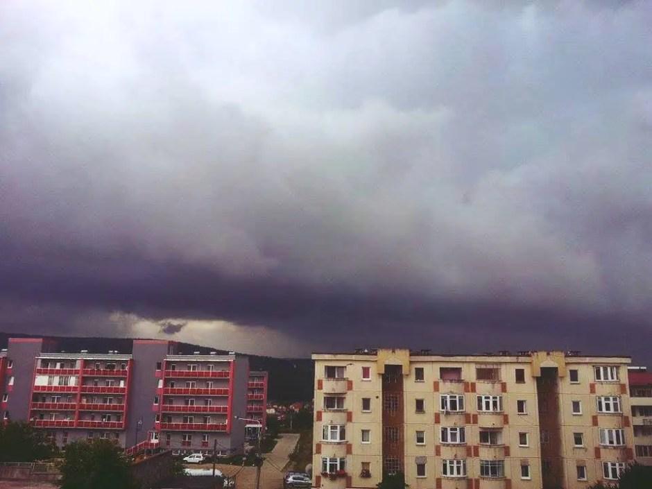 furtuna ploaie cluj