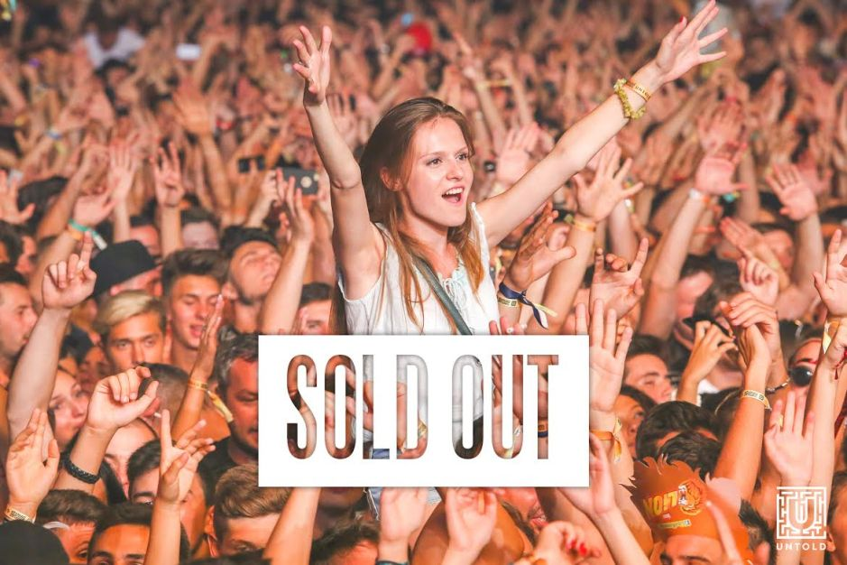 festival untold sold out