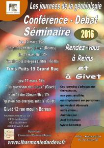 seminaire conférence trois puits Givet mars 2016
