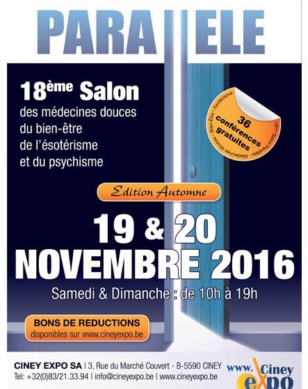 Salon parall le ciney novembre 2016 l 39 association l for Salons novembre 2016